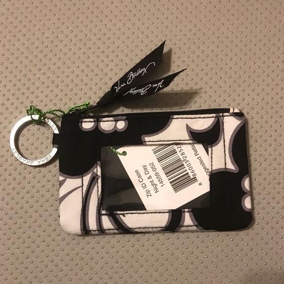Vera Bradley Handbags - Vera Bradley Zip ID Case in Night & Day